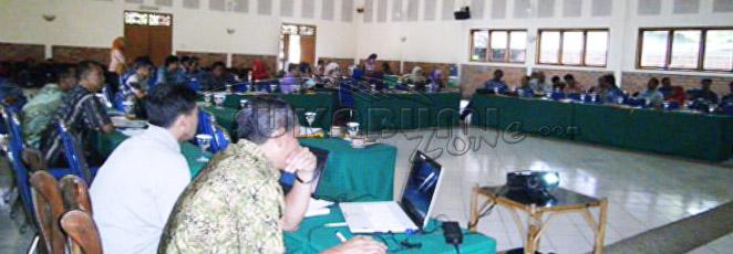 sosialisasi KLB keracunan pangan di Kabupaten Sukabumi