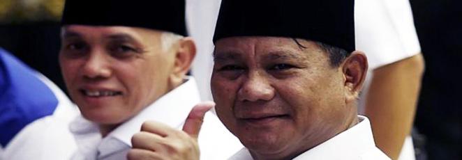 Di Sukabumi Prabowo-Hatta Mutlak Menang
