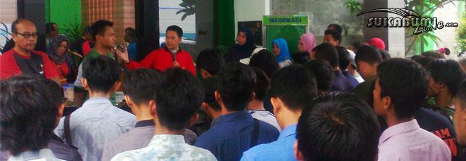 Manajer PT PLN Area Sukabumi Berikan Pengarahan di PT PLN Rayon Cikembar