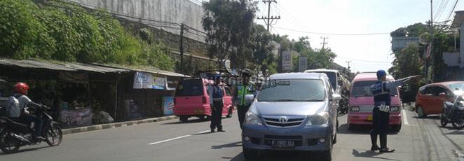 razia polisian Polresta Sukabumi Kota