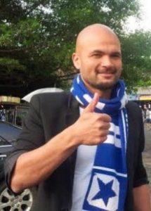 Striker Persib Bandung Sergio van Dijk