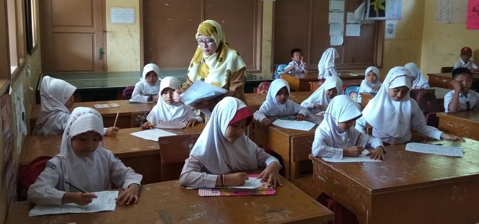 Ratusan Siswa SDN Babakan Ikuti Ujian Kenaikan Kelas – Sukabumizone